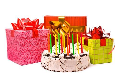 Картинки с тортами и подарками 556